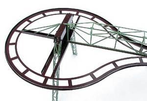 accessoire de train Rail suspendu Virage à 180°, H0 Lutz Hielscher Quirao idées cadeaux