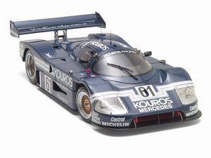 miniature de voiture Kouros Mercedes C9 German Cup 1987 (Exoto 18192) Exoto Quirao idées cadeaux