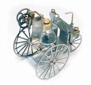 machine à vapeur Voiture à vapeur Lutz Hielscher Quirao idées cadeaux