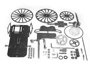 machine à vapeur Voiture à vapeur, Kit (vis seulement, pas de soudure) Lutz Hielscher Quirao idées cadeaux