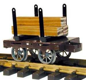 train miniature Wagon à marchandises Lutz Hielscher Quirao idées cadeaux