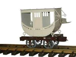 train miniature Wagon passager 1830, échelles I, G (45 mm) Lutz Hielscher Quirao idées cadeaux