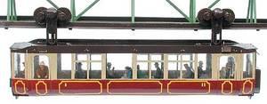 train miniature Wagon suspendu Kayserwagen 1901 H0 Lutz Hielscher Quirao idées cadeaux