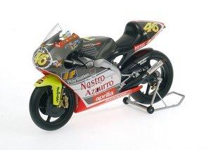 miniature de moto Aprilia 250 Ccm Team Aprilia Valentino Rossi Minichamps Quirao idées cadeaux