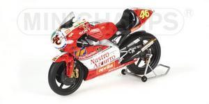 miniature de moto Aprilia 250 ccm Rossi mo Minichamps Quirao idées cadeaux