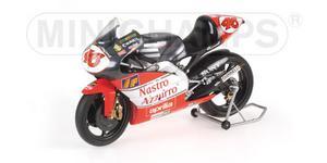 miniature de moto Aprilia 250 Ccm 1998 - Nastro - Valentino Rossi Minichamps Quirao idées cadeaux