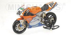 miniature de moto Ducati 996rs -gse Racing- Wsb 2001 Hodgson Minichamps Quirao idées cadeaux
