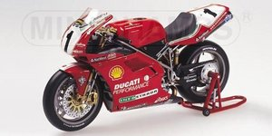 miniature de moto Ducati 996 C. Fogarty World Superbike Championship Minichamps Quirao idées cadeaux