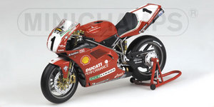 miniature de moto Ducati 996 Superbike -Carl Fogerty- Minichamps Quirao idées cadeaux