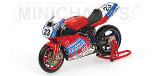 miniature de moto Ducati 998rs -jm Sbk - Mrkyvka (wsl) Minichamps Quirao idées cadeaux
