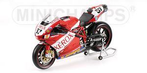 miniature de moto Ducati 999 F07 - Xerox - Lanzi Minichamps Quirao idées cadeaux