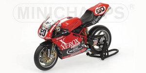 miniature de moto Ducati 999rs - Xerox - Praia  (wsl) Minichamps Quirao idées cadeaux