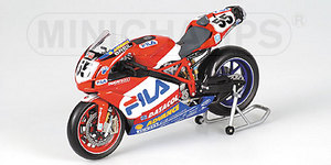 miniature de moto Ducati 999 F05  -Xerox - Laconi Minichamps Quirao idées cadeaux