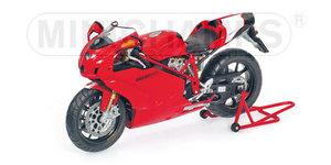 miniature de moto Ducati 999r 2005 Minichamps Quirao idées cadeaux