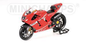 miniature de moto Ducati Desmo16 Gp 7 - Marlboro - Capirossi Minichamps Quirao idées cadeaux