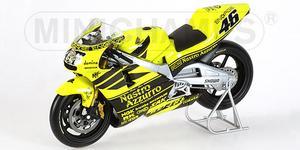 miniature de moto Honda Nsr500 2001 Testbike Nastro - Rossi Minichamps Quirao idées cadeaux
