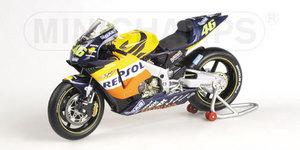 miniature de moto Honda Rc211v - Repsol - Rossi Minichamps Quirao idées cadeaux