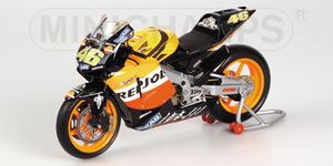 miniature de moto Honda Rc211v - team Repsol - Rossi Minichamps Quirao idées cadeaux
