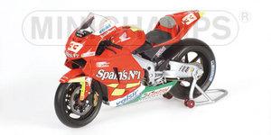 miniature de moto Honda Rc211v - Fortuna - Melandri Minichamps Quirao idées cadeaux