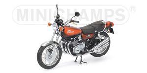 miniature de moto Kawasaki 900 Z1 Super4  rouge 1973 Minichamps Quirao idées cadeaux