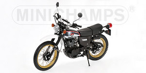 miniature de moto Yamaha Xt500 1981 Gold Wheels Minichamps Quirao idées cadeaux