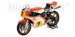 miniature de moto Suzuki Rg500 Barry Sheene Gp 1976 Minichamps Quirao idées cadeaux