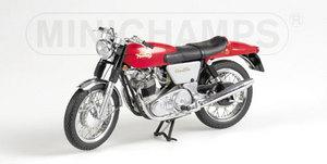 miniature de moto Norton Commando 750 Fastback 1968-72 rouge Minichamps Quirao idées cadeaux