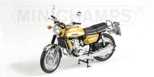 miniature de moto Suzuki Gt750 - Met Gold Minichamps Quirao idées cadeaux