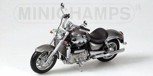 miniature de moto Triumph Rocket  2004 - Graphite Minichamps Quirao idées cadeaux