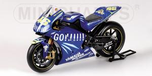 miniature de moto Yamaha Yzr-m1 -Gauloises- Rossi Minichamps Quirao idées cadeaux