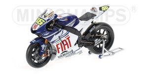 miniature de moto Yamaha Yzr-m1 - Fiat - Rossi Minichamps Quirao idées cadeaux