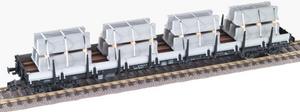 train miniature Wagon Plat Long - 52878701 Fleischmann Quirao idées cadeaux