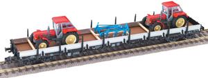 train miniature Wagon Plat Long - 52878703 Fleischmann Quirao idées cadeaux