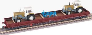 train miniature Wagon plat - 57878703 Fleischmann Quirao idées cadeaux