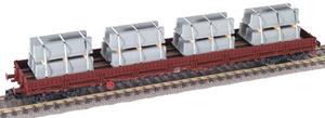 train miniature Wagon plat - 57878705 Fleischmann Quirao idées cadeaux
