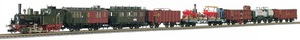 train miniature Set 120 ans, loco vapeur T3 et 7 wagons  - 1904 Fleischmann Quirao idées cadeaux