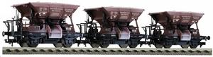 train miniature Set 3 Wagons à ballast - 550502 Fleischmann Quirao idées cadeaux