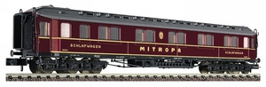 train miniature Voiture Lits  Mitropa - 807801 Fleischmann Quirao idées cadeaux