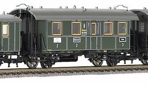 train miniature Voiture Voyag Bavarien - 889101 Fleischmann Quirao idées cadeaux