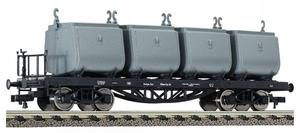 train miniature Wagon à Charbon  - 526601 Fleischmann Quirao idées cadeaux