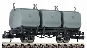 train miniature Wagon Charbon  - 826401 Fleischmann Quirao idées cadeaux
