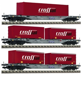 train miniature Wagon Crossrail  - 524101 Fleischmann Quirao idées cadeaux
