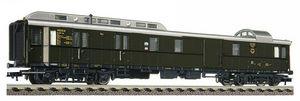 train miniature standard post and baggage coach Fleischmann Quirao idées cadeaux