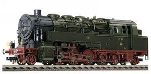 train miniature Loco-tender de la DRG, type 77 (95), avec interface électrique (echelle HO)105502 Fleischmann Quirao idées cadeaux