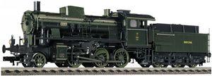train miniature Locomotive à tender de la DRG, type bay, G 3/4 H avec tender bay 3T18.2 (bavarois), (Echelle HO) 414402 Fleischmann Quirao idées cadeaux