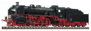 train miniature Loco-tender de la DR, type 18.4 avec tender 2'2'T27.4 (bay) avec interface électrique (Echelle HO) 411801 Fleischmann Quirao idées cadeaux