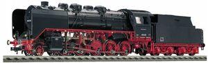 train miniature Locomotive à tender de la DB, type 43 avec tender 2'2' T 32, type riveté, avec interface électrique (Echelle HO) 414302 Fleischmann Quirao idées cadeaux