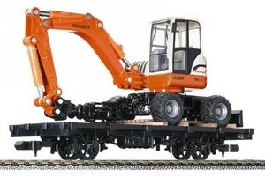 train miniature Wagon et tractopelle - 243601 Fleischmann Quirao idées cadeaux