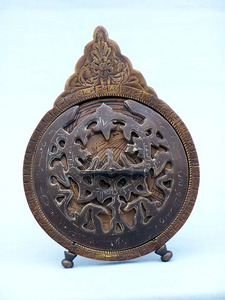 astrolabe, boussole, sextant Astrolabe sur trépied 15 cm diamètre  Quirao idées cadeaux