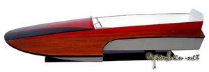 maquette de bateau, voilier, runabout Baby Hydroplane - 60 cm Gia Nhien Quirao idées cadeaux